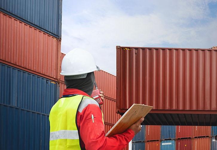 Logistics checking
